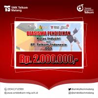 Beasiswa Kelas Industri PT. Telkom Indonesia