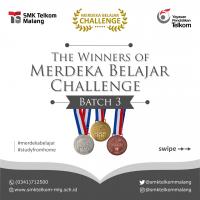 Pemenang Terbaik Tiap Jurusan Merdeka Belajar Challenge Batch 3